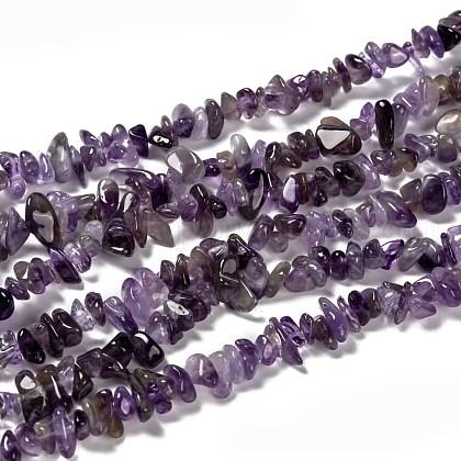 Natural Amethyst Beads StrandsUK-Z0RRN-1