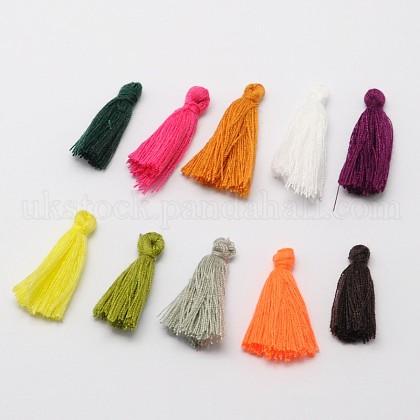 Cotton Thread Tassels Pendant DecorationsUK-NWIR-P001-03-1