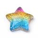 Rainbow Resin CabochonsUK-CRES-Q197-46-1