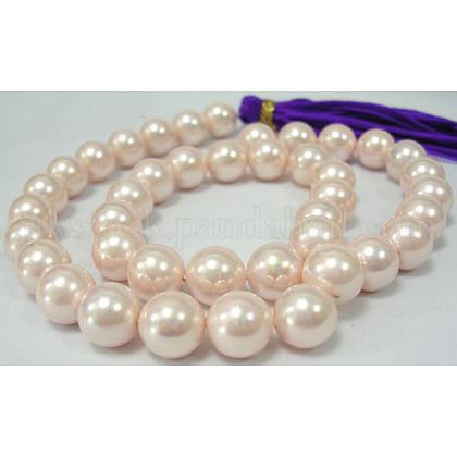 Shell Pearl Beads StrandsUK-SP8MM505-K-1