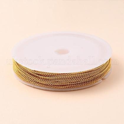 Brass Curb ChainsUK-CHC-CJ0001-06-NR-1