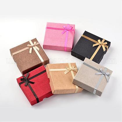 Square Cardboard Bracelet BoxesUK-CBOX-D028-03-1