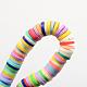 Handmade Polymer Clay BeadsUK-X-CLAY-R067-4.0mm-M1-2