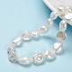 Natural Baroque Pearl Keshi Pearl Beads StrandsUK-PEAR-K004-33-1