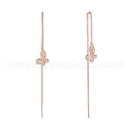SHEGRACE® 925 Sterling Silver Thread EarringsUK-JE569B-1