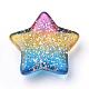 Rainbow Resin CabochonsUK-CRES-Q197-46-2