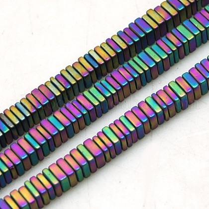 Non-magnetic Synthetic Hematite Beads StrandsUK-G-K003-3mm-01F-K-1