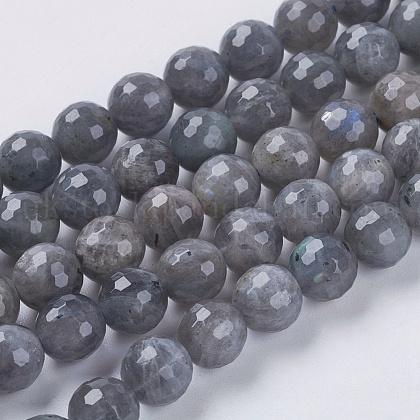 Natural Labradorite Beads StrandsUK-G-G213-4mm-03-1