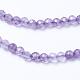 Natural Amethyst Beads StrandsUK-G-F568-166-2mm-3