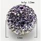 Czech Glass Rhinestone BeadsUK-RB-Q091-13-1